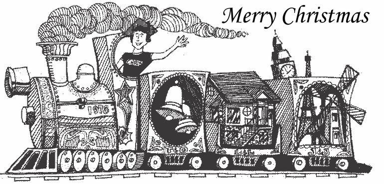 Chris's Christmas Train