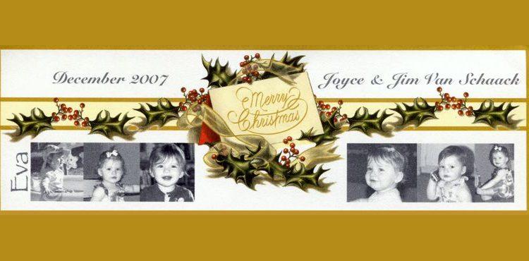 Christmas Letter 2007