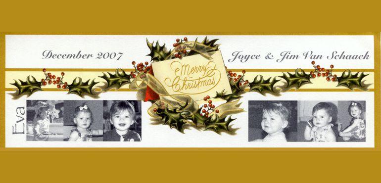 Van Schaack Christmas Letter 2007