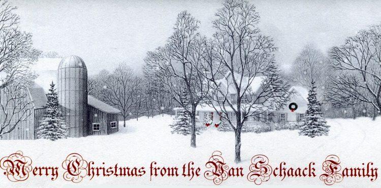Van Schaack Christmas Letter 2010