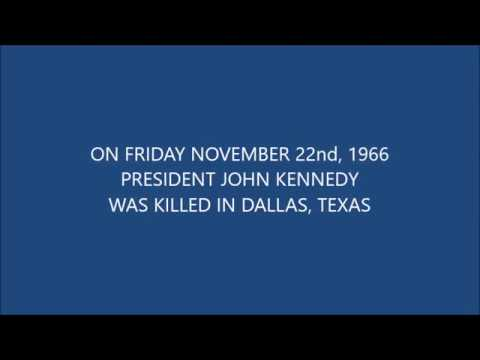 Dallas Texas Three Days after President Kennedy was Assassinated