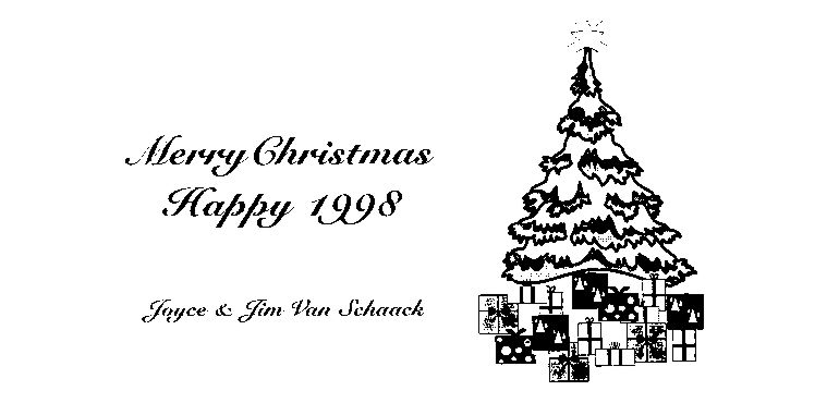 Merry Christmas Happy 1998