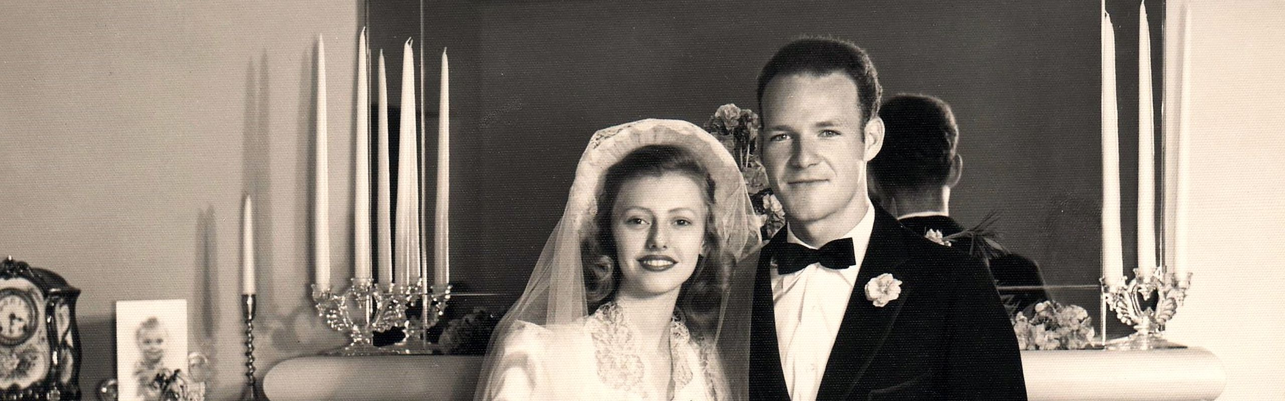 Jim & Joyce Van Schaack Wedding Photo