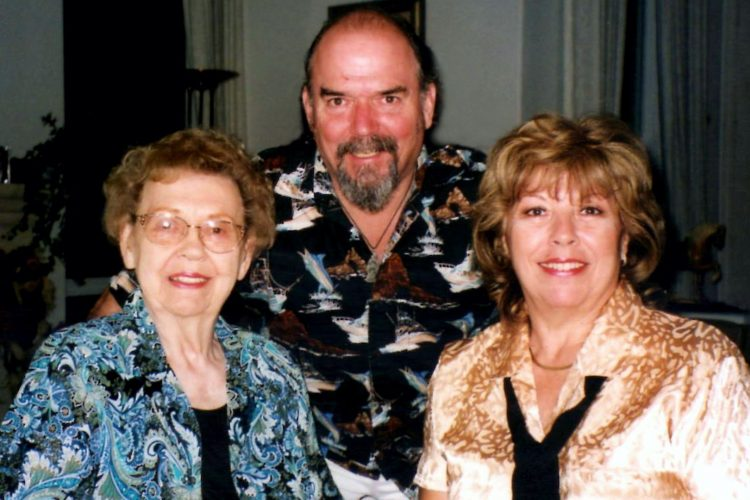 LaVern Richards, Kent Richards and Cheryl Richards