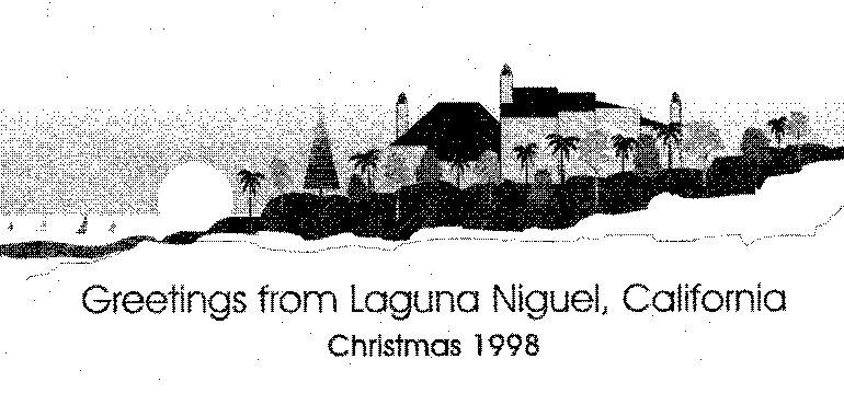 Van Schaack Christmas Letter 1998
