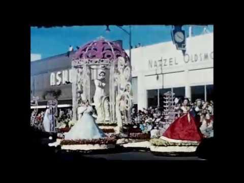 Van Schaack Family Attending the 1960 Rose Parade