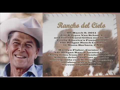 Visiting the Reagan Ranch Rancho del Cielo