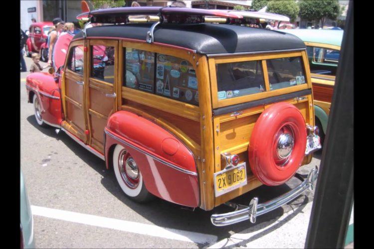 Classic Car Show in San Clemente, CA
