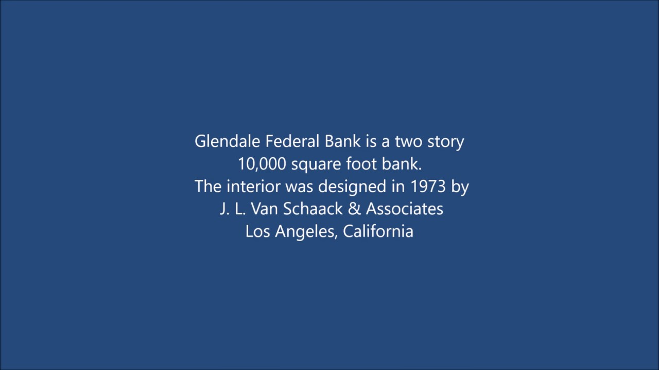 Glendale Federal Bank Newport Beach CA