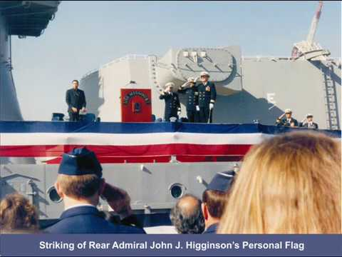 Rear Admiral John Higginson Naval Retirement