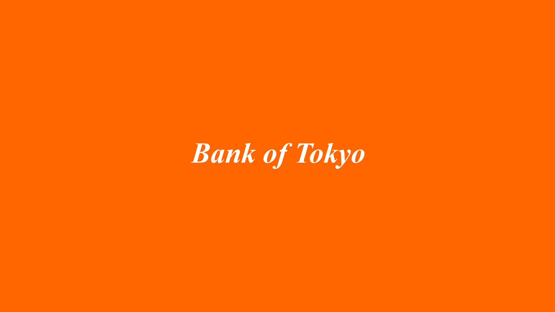 Bank of Tokyo West Los Angeles Branch Opening 1966