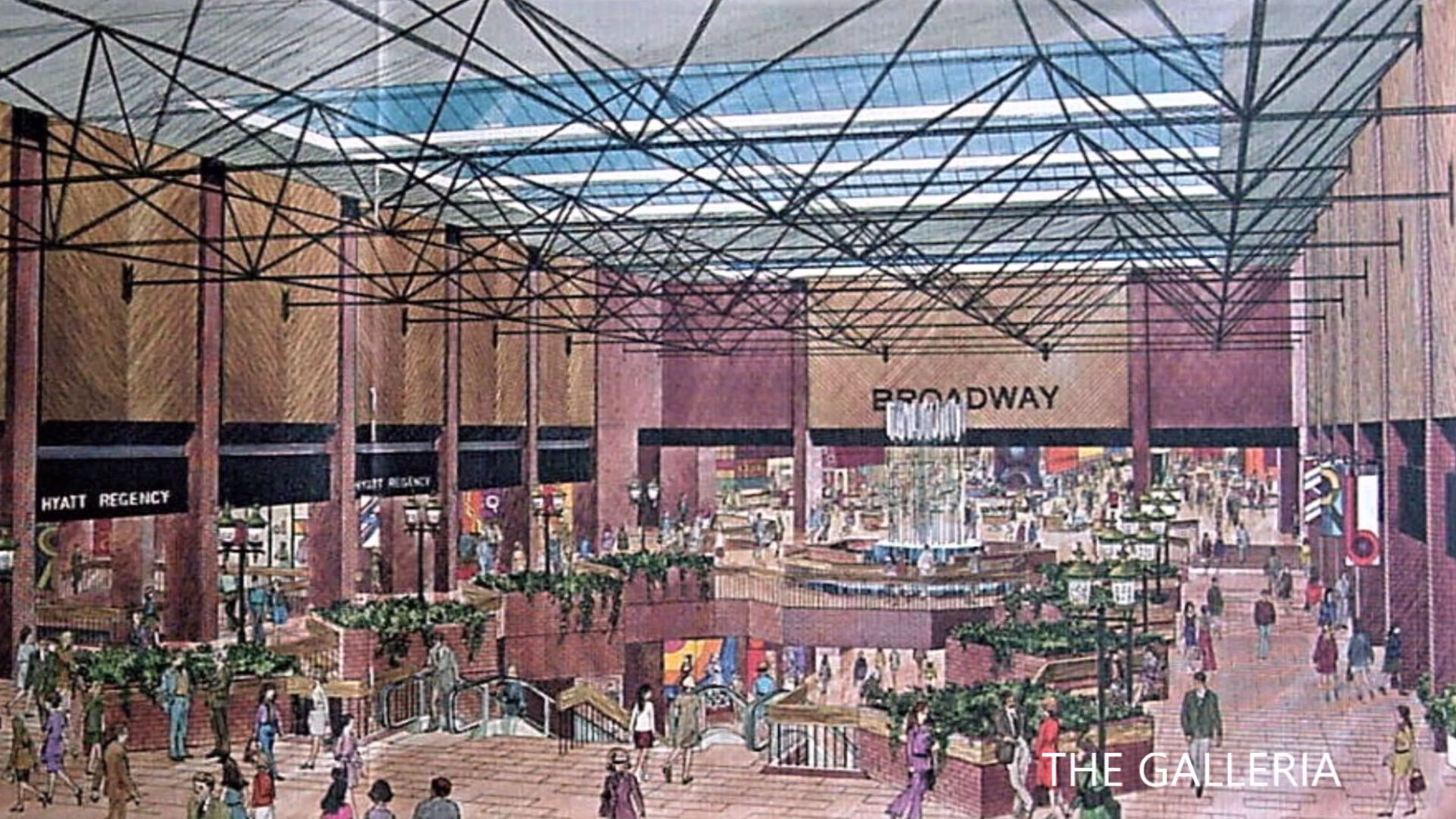 Broadway Plaza the Galleria