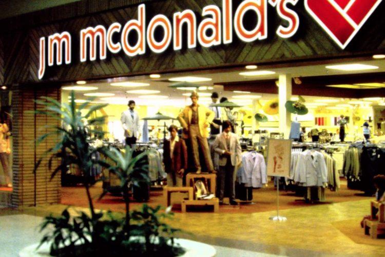 Jim Van Schaack's McDonald's Department  Store Visalia Project