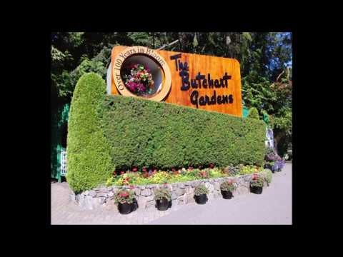 The Van Schaack's Visit Butchart Gardens in 1973