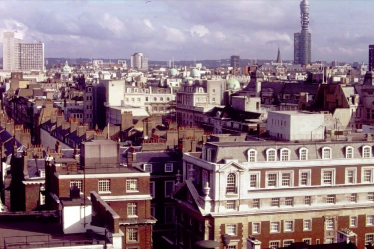 The Van Schaack's Visit London England  in 1979