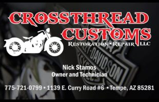 CrossThread Customs: Motorcycle Restoration and Repair – Tempe, AZ