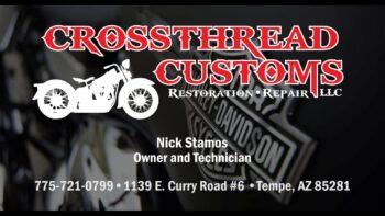 CrossThread Customs: Motorcycle Restoration and Repair – Tempe, AZ